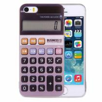 AppleKing kryt na iPhone 5/5S/SE s motivem kalkulačky šedý