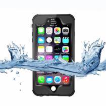 AppleKing voděodolný a prachuvzdorný IP68 obal na iPhone 6 Plus/6S Plus černý