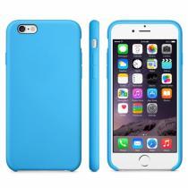 AppleKing protiskluzový matný obal pro Apple iPhone 6/6S modrý