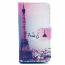AppleKing pouzdro se stojánkem a sloty na karty pro Apple iPhone 4/4S Paříž a Eiffelovka