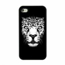 AppleKing plastový obal pro Apple iPhone 4/4S Leopard