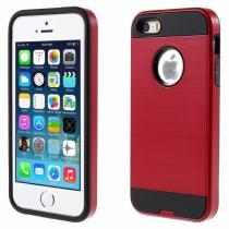 AppleKing pouzdro 2v1 pro Apple iPhone 5/5S/SE červené