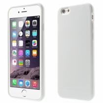 AppleKing lesklý gelový kryt na Apple iPhone 6/6S bílý