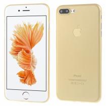 AppleKing ultratenký 0.3 mm matný kryt na Apple iPhone 8 Plus/7 Plus zlatý