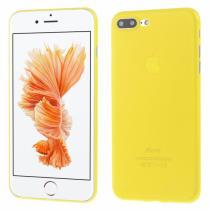 AppleKing ultratenký 0.3 mm matný kryt na Apple iPhone 8 Plus/7 Plus žlutý