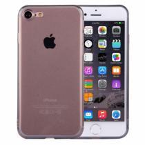 AppleKing ultratenký 0.5mm tmavý silikonový kryt pro Apple iPhone 8/7 černý