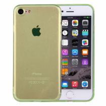 AppleKing ultratenký 0.5mm tmavý silikonový kryt pro Apple iPhone 8/7 zelený
