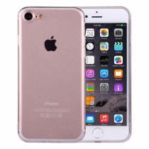 AppleKing ultratenký 0.5mm tmavý silikonový kryt pro Apple iPhone 8/7 průhledný
