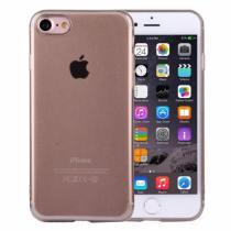 AppleKing ultratenký 0.5mm světlý silikonový kryt pro Apple iPhone 8/7 černý