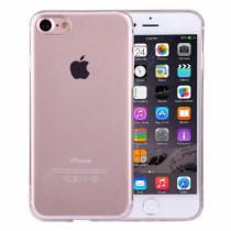 AppleKing ultratenký 0.5mm světlý silikonový kryt pro Apple iPhone 8/7 průhledný