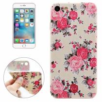 AppleKing ochranný kryt pro Apple iPhone 8/7 Bílý s růžemi