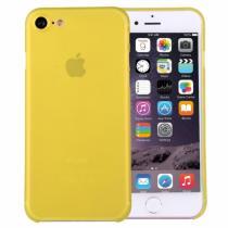 AppleKing super lehký tenký kryt na Apple iPhone 8/7 žlutý