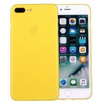 AppleKing ochranný zadní kryt matný pro Apple iPhone 8 Plus/7 Plus žlutý