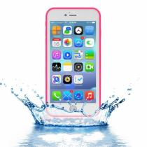 AppleKing voděodolný obal s diamantovým vzorem pro Apple iPhone 8 Plus/7 Plus růžový