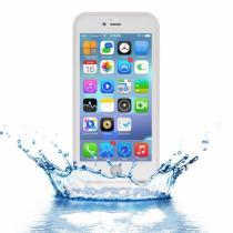 AppleKing voděodolný obal s diamantovým vzorem pro Apple iPhone 8 Plus/7 Plus průhledný