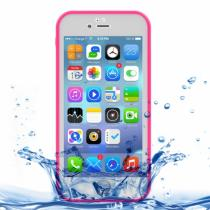 AppleKing voděodolný obal s diamantovým vzorem pro Apple iPhone 8/7 růžový