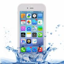AppleKing voděodolný obal s diamantovým vzorem pro Apple iPhone 8/7 bílý