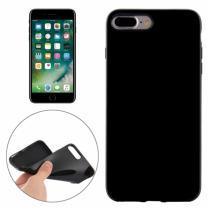 AppleKing gumový hladký kryt pro Apple iPhone 8 Plus/7 Plus černý