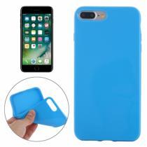 AppleKing gumový hladký kryt pro Apple iPhone 8 Plus/7 Plus modrý