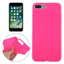 AppleKing gumový hladký kryt pro Apple iPhone 8 Plus/7 Plus růžový