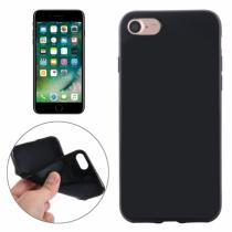 AppleKing gumový hladký kryt pro Apple iPhone 8/7 černý
