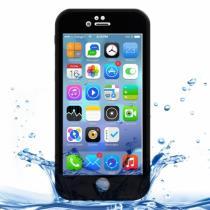 AppleKing voděodolný obal/kryt pro Apple iPhone 8/7 černý s diamantovým vzorkem