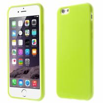 AppleKing lesklý gelový kryt na Apple iPhone 6/6S zelený