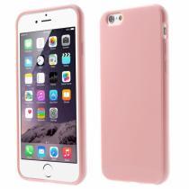 AppleKing lesklý gelový kryt na Apple iPhone 6/6S růžový