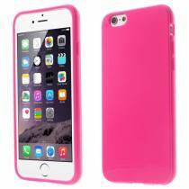 AppleKing lesklý gelový kryt na Apple iPhone 6/6S rose