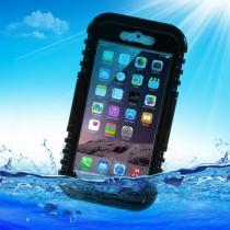 AppleKing voděodolné IP68 pouzdro pro Apple iPhone 6/6S černé