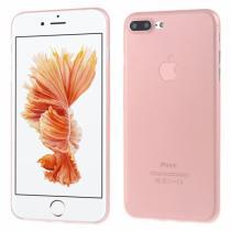 AppleKing ultratenký 0.3 mm matný kryt na Apple iPhone 8 Plus/7 Plus světle růžový