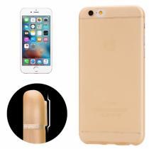 AppleKing ultra tenký plastový kryt pro iPhone 6/6S s ochranou zadní kamery oranžový