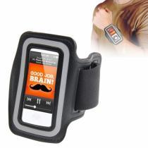 AppleKing sportovní pouzdro s reflexním pruhem pro iPod nano 7.gen. černé