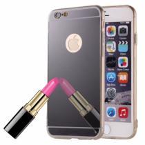 AppleKing zrcadlový ochranný kryt pro iPhone 6/6S černý