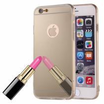 AppleKing zrcadlový ochranný kryt pro iPhone 6/6S zlatý