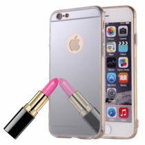 AppleKing zrcadlový ochranný kryt pro iPhone 6/6S stříbrný