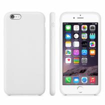 AppleKing protiskluzový matný obal pro Apple iPhone 6/6S bílý