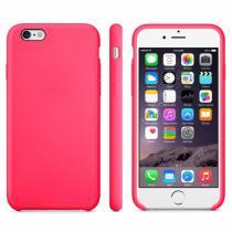 AppleKing protiskluzový matný obal pro Apple iPhone 6/6S růžový