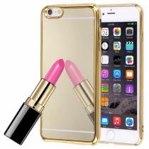 AppleKing zrcadlový ochranný kryt pro Apple iPhone 6 Plus/6S Plus zlatý