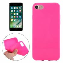 AppleKing gumový hladký kryt pro Apple iPhone 7 růžový