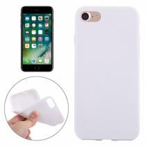 AppleKing gumový hladký kryt pro Apple iPhone 8/7 bílý