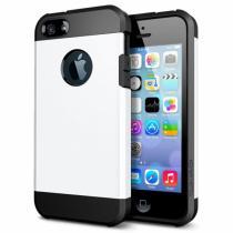 "AppleKing super odolný ""Armor"" kryt pro iPhone 5/5S/SE bílý"