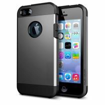 "AppleKing super odolný ""Armor"" kryt pro iPhone 5/5S/SE šedý"