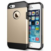 "AppleKing super odolný ""Armor"" kryt pro iPhone 5/5S/SE zlatý"