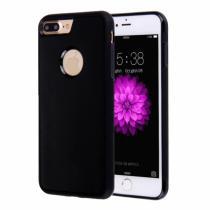 AppleKing magický antigravitační samolepící kryt na Apple iPhone 8 Plus/7 Plus vhodný pro selfie černý