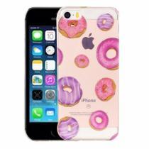 AppleKing kryt na iPhone 5/5S/SE výtvarné zpracování donuty a koblihy