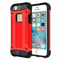 "AppleKing super odolný ""Armor"" kryt pro Apple iPhone 5/5S/SE červený"