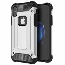 """AppleKing super odolný """"Armor"""" kryt na iPhone X stříbrný"""