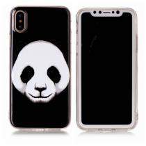 AppleKing plastový zadní kryt pro Apple iPhone X panda