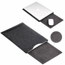 """AppleKing sOYAN obálka s podložkou pro Apple MacBook 13"""" černá"""